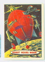 1957 Space 8 Robot Nears Moon Excellent to Excellent Plus