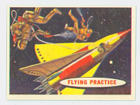 1957 Space 26 Flying Practive Near-Mint