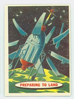 1957 Space 30 Preparing to Land Excellent to Excellent Plus