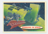 1957 Space 52 Working in Space Near-Mint