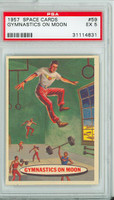 1957 Space 59 Gymnastics on the Moon PSA 5 Excellent