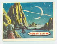 1957 Space 83 View of Saturn Excellent to Excellent Plus