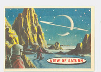 1957 Space 83 View of Saturn Excellent to Mint