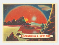 1957 Space 87 Discovering a New Sun Excellent to Mint