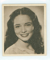 1948 Movie Stars 5 Margaret Field Excellent to Mint