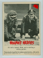 1965 Hogans Heroes 7 Victory Garden Very Good to Excellent