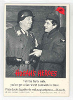 1965 Hogans Heroes 40 Sandwich Near-Mint