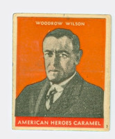 1932 Presidents 27 Woodrow Wilson Very Good