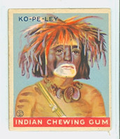 1933 Indian Gum 147 Ko-pe-ley Very Good to Excellent