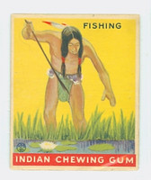 1933 Indian Gum 161 Fishing Very Good to Excellent