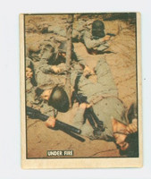 1950 Freedom's War 105 Under Fire Very Good to Excellent
