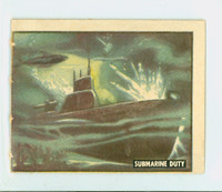 1950 Freedom's War 145 Submarine Duty Very Good to Excellent