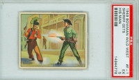1950 Wild West F-1 Sheriff Gets His Man PSA 5 Excellent