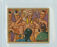 1950 Wild West B-8 An Indian Never Forgets Good to Very Good