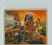 1950 Wild West D-9 Battle of Horseshoe Bend Very Good to Excellent