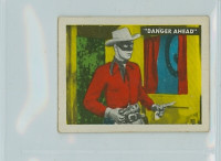 1950s Ed-U-Card Lone Ranger 55 Two-Gun Man Good to Very Good