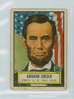 1952 Look N See 4 Abraham Lincoln Single Print Fair to Poor