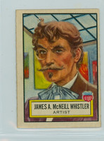 1952 Look N See 23 James McNeill Whistler Excellent