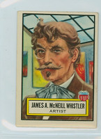 1952 Look N See 23 James McNeill Whistler Excellent to Mint