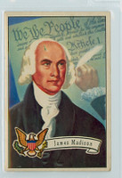 1952 U.S. Presidents 6 James Madison Fair to Good