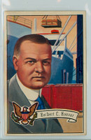 1952 U.S. Presidents 33 Herbert Hoover Fair to Good