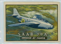 1952 Wings 121 SAAB 29A Excellent to Mint