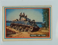 1953 Fighting Marines 4 Riding The Tank Good to Very Good