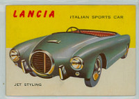 1954 World On Wheels 10 Lancia Sports Car Very Good to Excellent