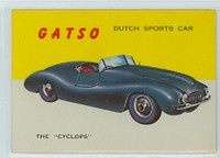 1954 World On Wheels 14 Gatso Cyclops Excellent to Mint