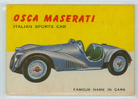 1954 World On Wheels 15 Osca Maserati Very Good to Excellent