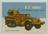 1954 World On Wheels 47 US Army Anti-Aircraft Half-Truck Excellent