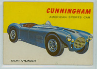 1954 World On Wheels 54 Cunningham Sports Car Excellent