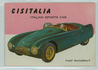 1954 World On Wheels 102 Cistella Sports Car Excellent to Mint