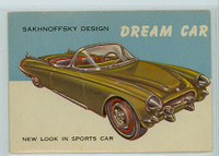 1954 World On Wheels 114 Dream Car - Sakhnoffsky Very Good to Excellent