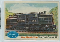 1955 Rails and Sails 4 NY Central Railroad Excellent