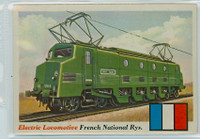 1955 Rails and Sails 7 French National Railways Excellent to Mint