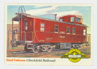1955 Rails and Sails 9 Clinchfield Railroad Excellent to Excellent Plus
