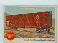 1955 Rails and Sails 11 Missouri Pacific Railroad Very Good