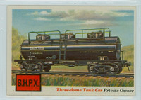 1955 Rails and Sails 13 Three-dome Tank Car Excellent to Mint