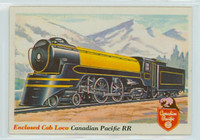 1955 Rails and Sails 16 Canadian Pacific Railroad Near-Mint