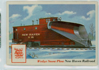 1955 Rails and Sails 31 Wedge Snow Plow Excellent to Mint