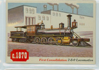 1955 Rails and Sails 33 First Consolidation 2-8-0 Excellent to Mint