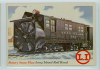 1955 Rails and Sails 34 Rotary Snow Plow Excellent