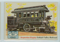 1955 Rails and Sails 35 Lehigh Valley Railroad Excellent to Mint