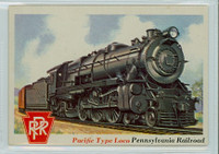 1955 Rails and Sails 38 Pacific Type Locomotive Excellent to Mint