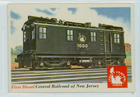 1955 Rails and Sails 41 Central Railroad of New Jersey Near-Mint