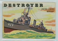 1955 Rails and Sails 133 Destroyer Very Good
