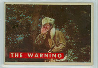 1956 Davy Crockett Green 9 The Warning Very Good