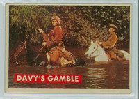 1956 Davy Crockett Green 11 Davy's Gamble Very Good