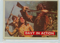 1956 Davy Crockett Green 14 Davy In Action Very Good